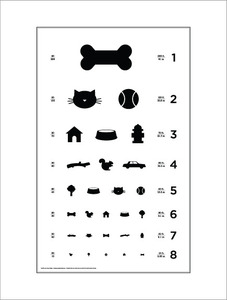 Dog Eye Chart