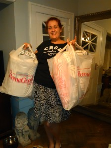 Two of many bags!