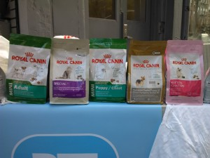 Some of the available pet formulas by Royal Canin
